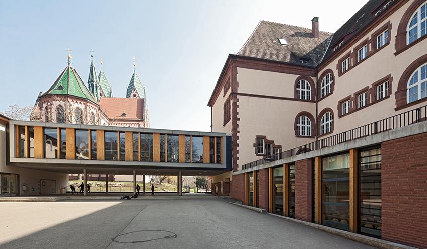 hebelschule sandhau architekten freiburg 1