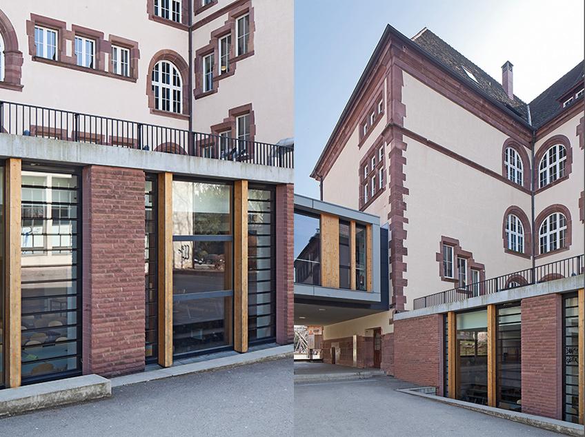 hebelschule sandhau architekten freiburg 2